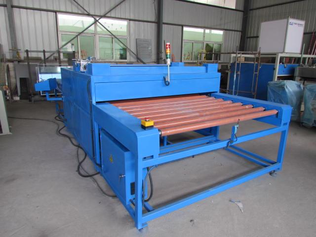 Double Glazing Heat Roller Press,Heated Roller Press,Hot Roller Press Machine for Insulating Glass
