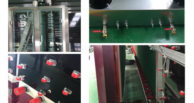 Auto Flat Insulating Low-E Double Glass Machine With Man Machine Interface