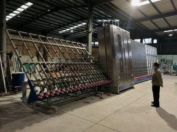 China Low E Washing Glass Machine , Flat Glass Washing Machine Max Glass Size 2800x4000mm supplier