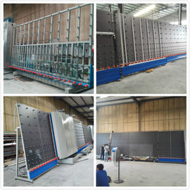 China Fully Automatic Insulating Glass Vertical Double Glazing Equipment / Production Line supplier