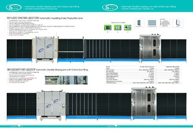 China 2500x3000mm Automatic Low-e Double Glazing Line /  Insulating Glass Machine supplier