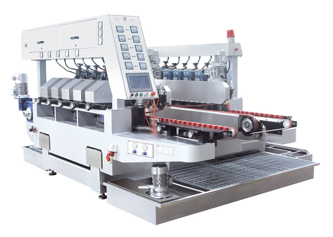 Ten Motors Double Edge Polishing Machine Glass Grinding