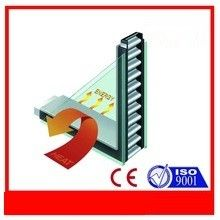 China Butyl Rubber Trim Seal Window Spacer Bar , Aluminium Glazing Bars For Glass distributor