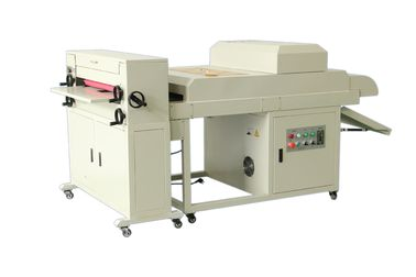 China Multi Rollers Card 650mm Uv Embossing Machine For Photo Paper , High Efficiency factory