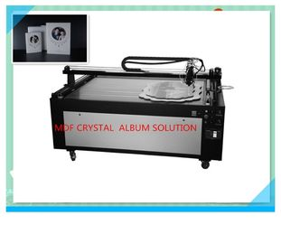 China Automatic Crystal Glue Dispensing Machine for Cystal Cover / Frame Making Machine factory