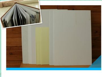 China Hot Melt Glue Double Sided Self Adhesive Pvc For Photobook Album Sheet distributor