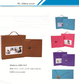 China PU Album Covers /  Leather Album Cover,Customized  Leather Album Cover with Suitcase /  PU Album Covers factory