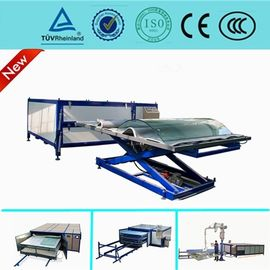China EVA Curved Laminated Glass Machine , Industrial Laminating Machine Autoclave Free distributor