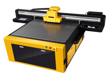 China ABS / Cloth Jet Ink UV Flatbed Printer With adjustable Nozzle Temperature and Voltage distributor