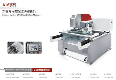 China Glass Processing Cnc Deep Hole Drilling Machine With Low Noise , Easy Control factory