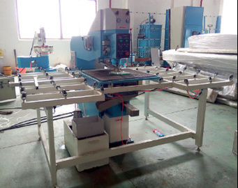 China Semi Automatic Glass Drilling Machine With Lower Drilling Bit PLC Control System distributor