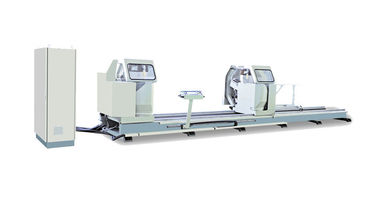 China Double Head Mitre Saw Door And Aluminium Window Machinery For Aluminum Profile distributor
