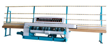 China PLC Control Glass Beveling Machine , Stable operation Glass Processing Equipment distributor