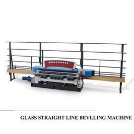 China Automatic Straight Line Glass Beveller Edge Cutting Grinding Polish Machine distributor