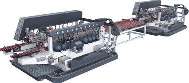 China Full Automatic Straight Line Glass Edging Machine 20 Motors Customized distributor