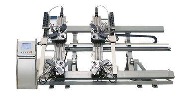 China Four Head aluminium corner crimping machine, CNC aluminum window corner crimping machine distributor