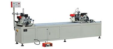 China Double Head Aluminium Window Machinery , Aluminium Corner Crimping Machine factory
