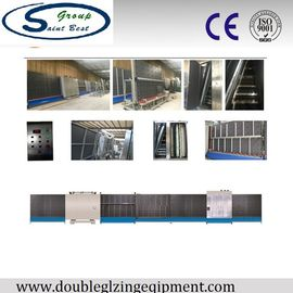 China Automatic LOW - E Insulated Glass Machine with PLC Control 50m/min distributor