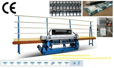 China Straight Line Small Glass Beveling Machine Processing Thickness 3 ~ 19mm distributor