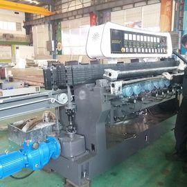 China High Efficiency Glass Straight Line Beveling Machine Double Glazing Equipment distributor