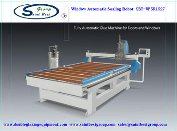 China CE Window Frame Automatic Sealing Machine / Robot with one year Warranty distributor