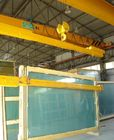 C Or U Shape Container Glass Lifting Crane For Railway Stations , Docks